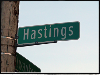 Blogpost Series #1 – Rediscovering Hastings Street